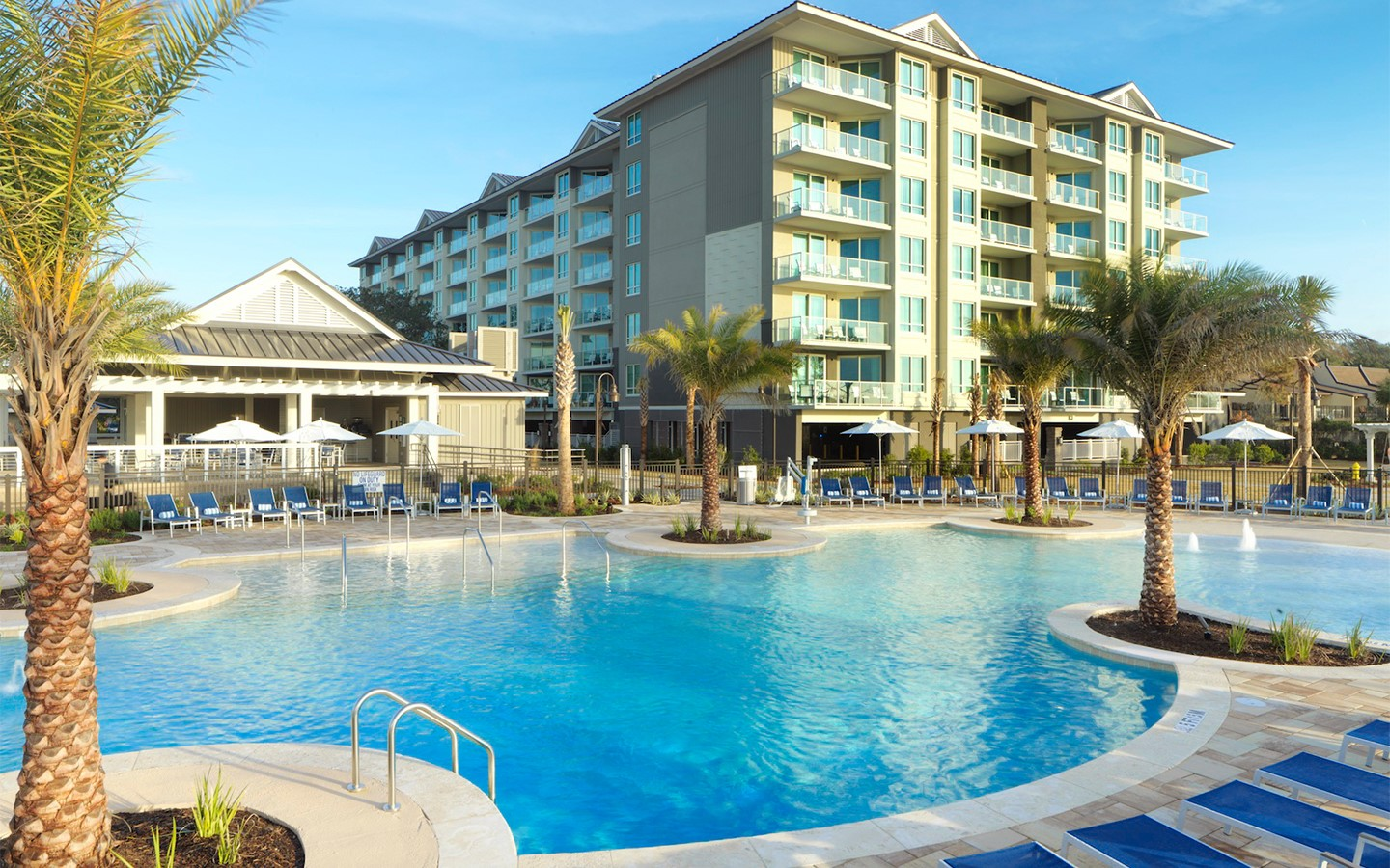 Hilton Grand Vacations  Ocean Oak Resort by Hilton Grand